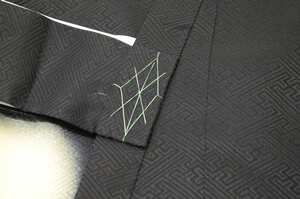 付紐の飾り糸